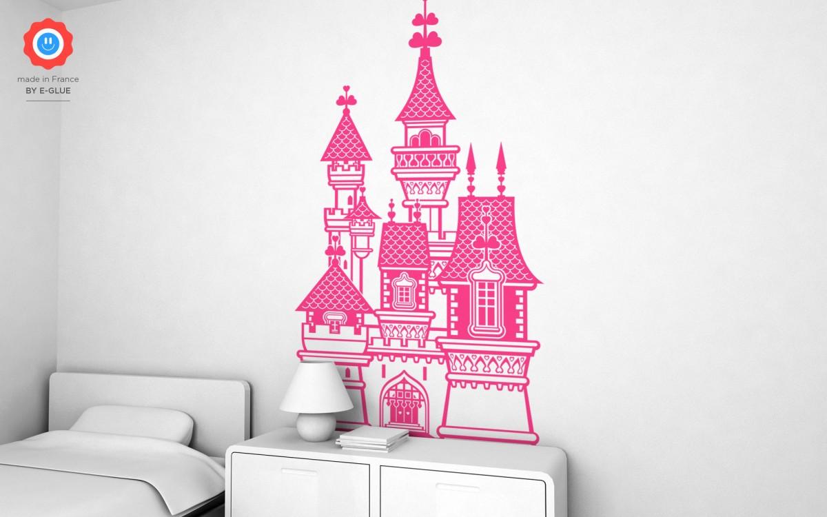 sticker château de princesse (XXL)