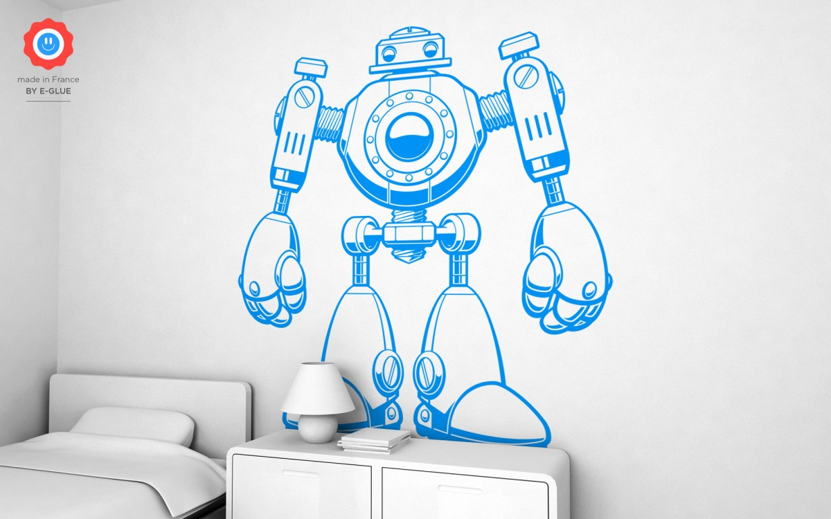 robot kids wall decals (XXL)