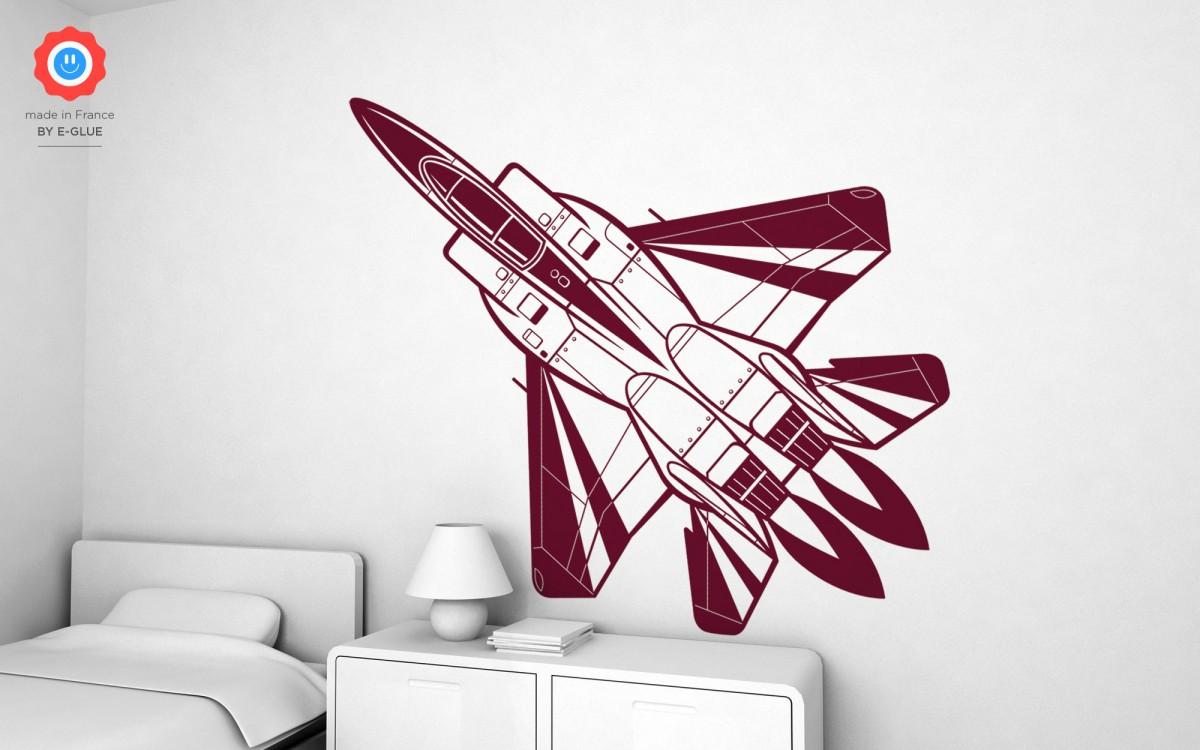 vinilos avión de caza (XXL)