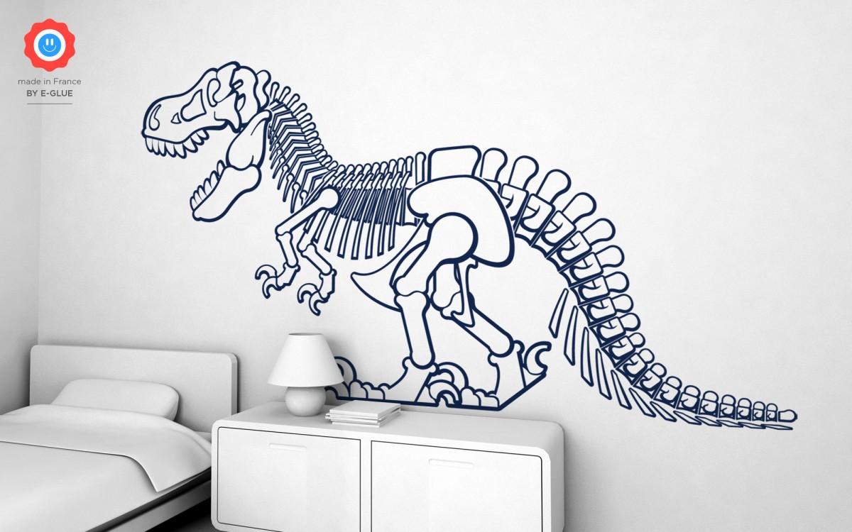 stickers dinosaure t-rex (XXL)
