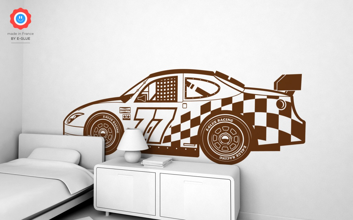 Racing Car Wall Decals (XXL)