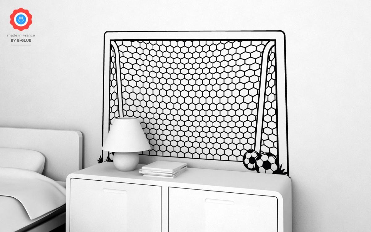 football goal post wall decals (XL)