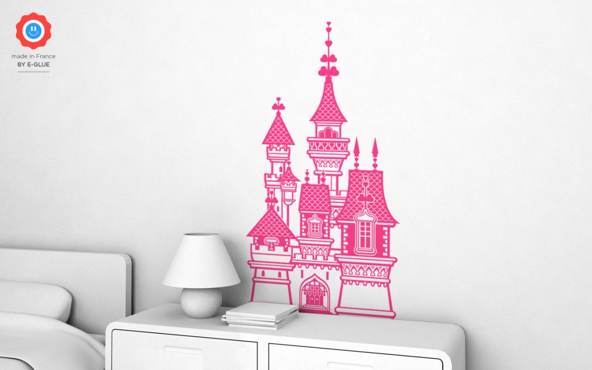 princess castle wall decals (XL)