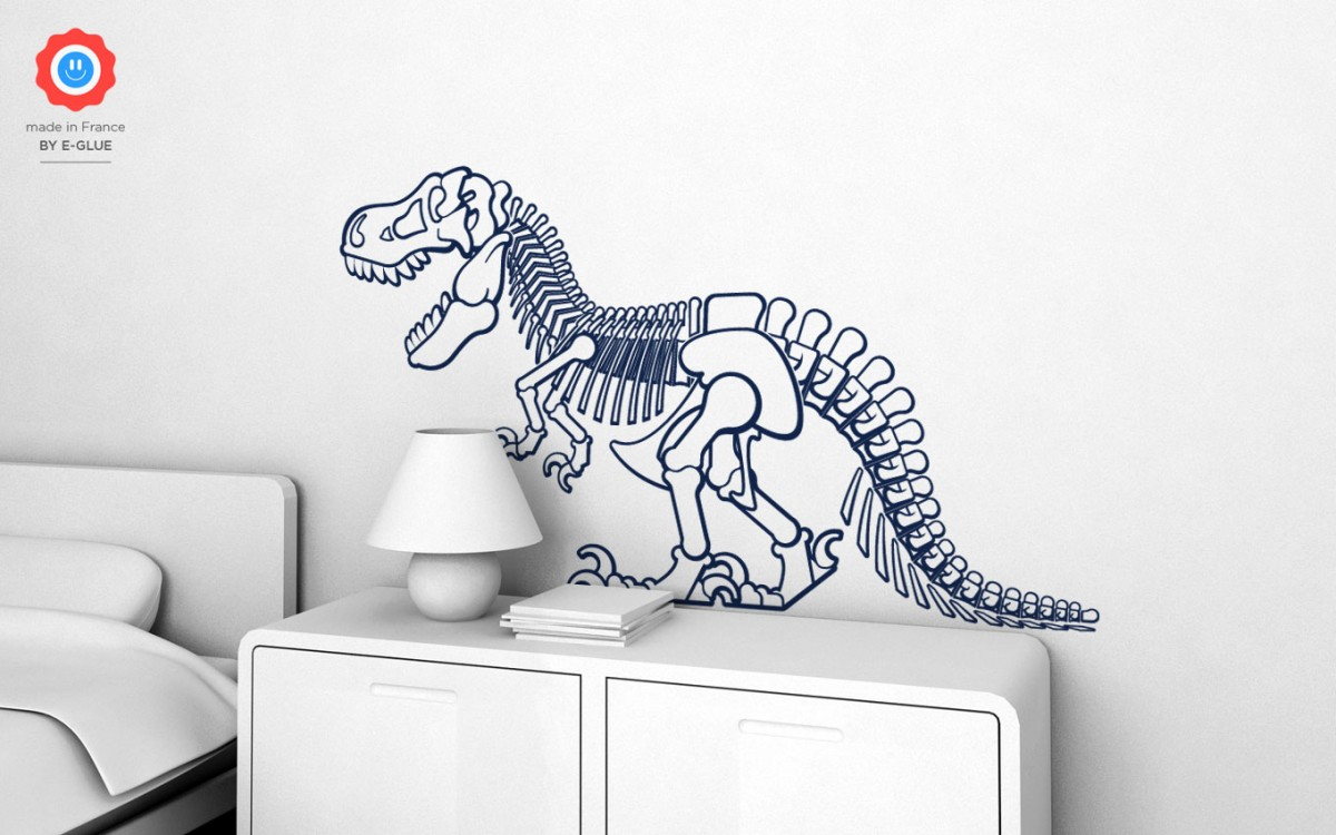 stickers dinosaure t-rex (XL)