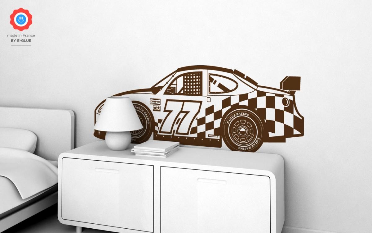vinilos coche de carreras (XL)