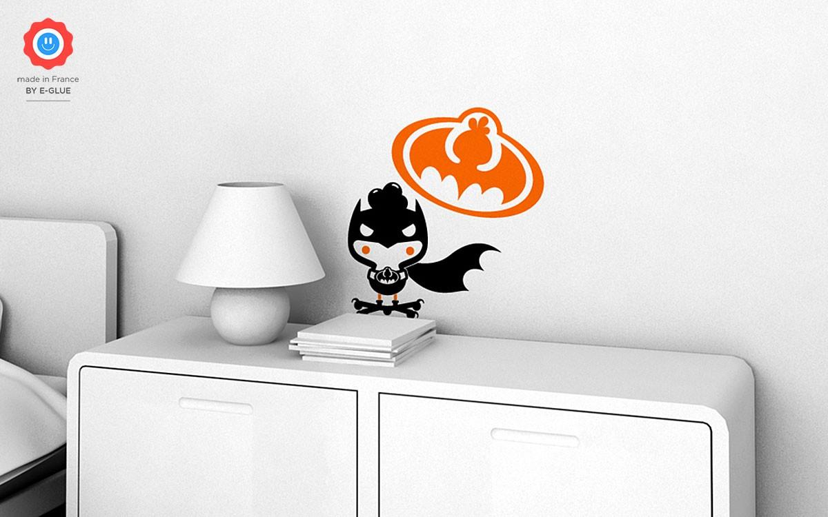vinilos superhéroe Bat Chicky