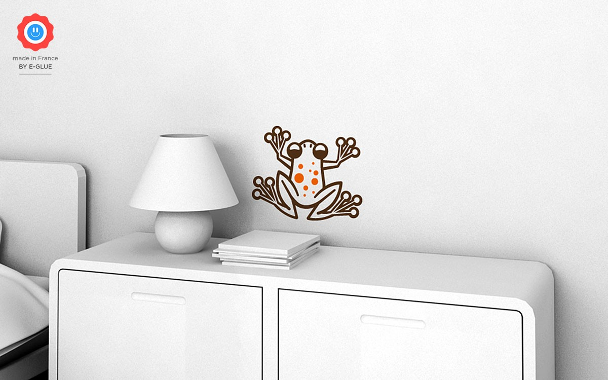 stickers enfant grenouille