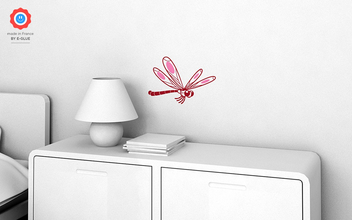 dragonfly kids wall decals