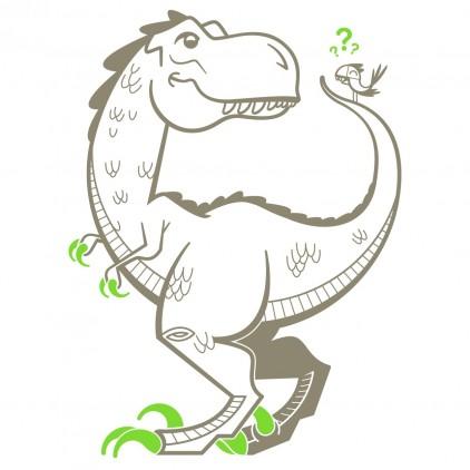 vinilos infantiles dinosaurio tiranosaurio