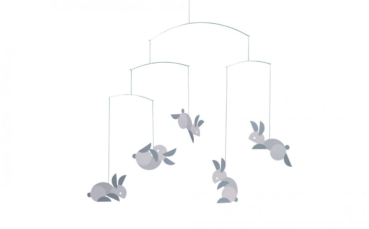 Móvil Conejo Flensted - Decoración Habitación Bebé Infantil ...