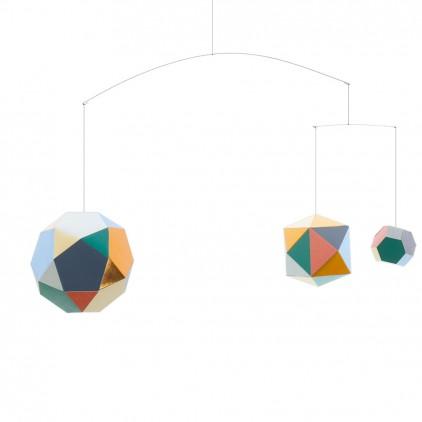 Themis trio design baby mobile Artecnica for kids room decoration