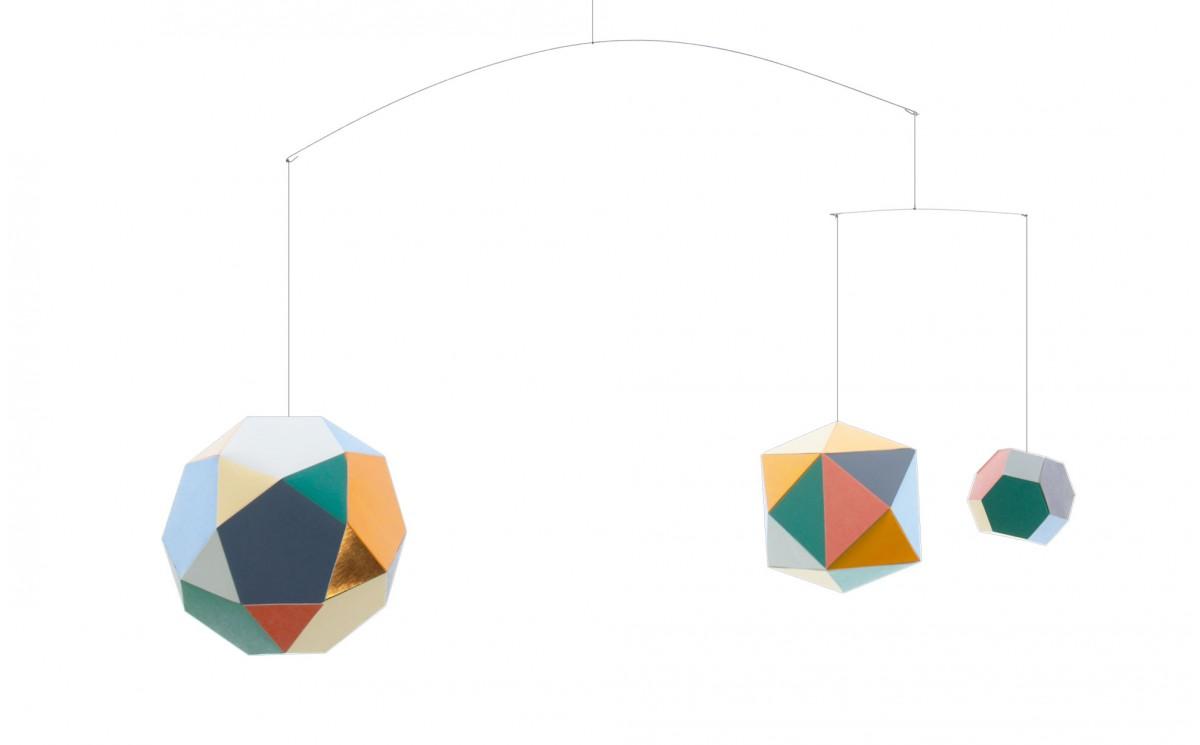Origami Mobile Themis by Artecnica - Kids Room Décor, Baby Nursery ...