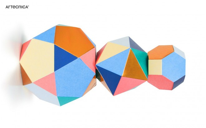 mobile design bébé themis trio par Artecnica