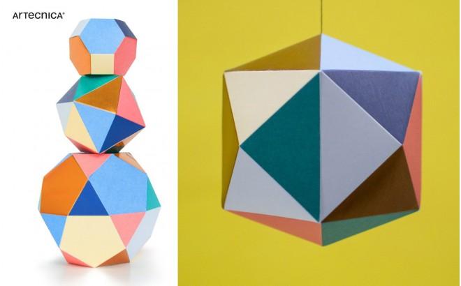 mobile design chambre bébé, Themis trio par Artecnica