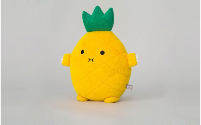 Pineapple Cushion for babies and kids RiceAnanas yellow by Noodoll