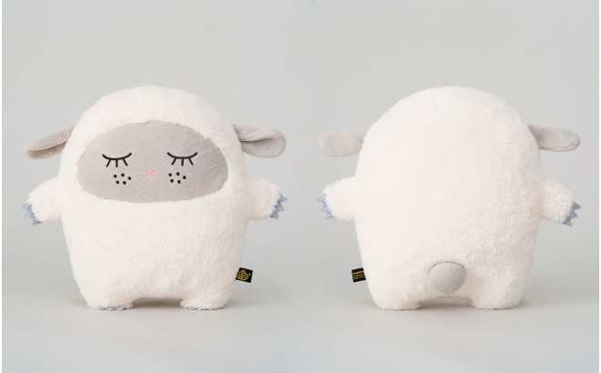 muñeco peluche Ricewool blanco