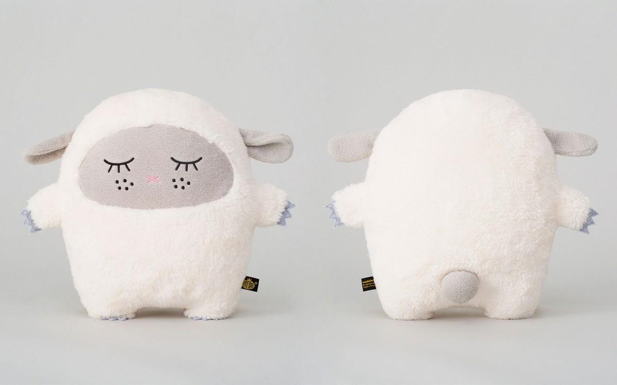 peluche doudou Ricewool blanc