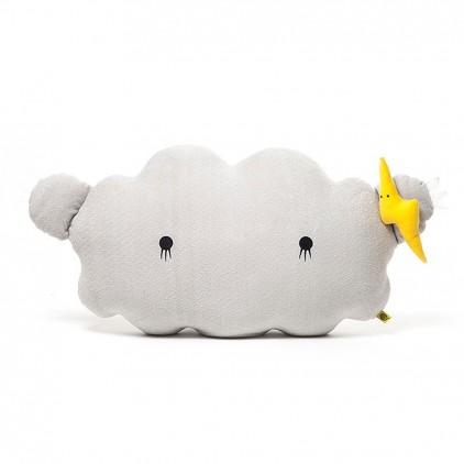 cojín peluche Nube gris