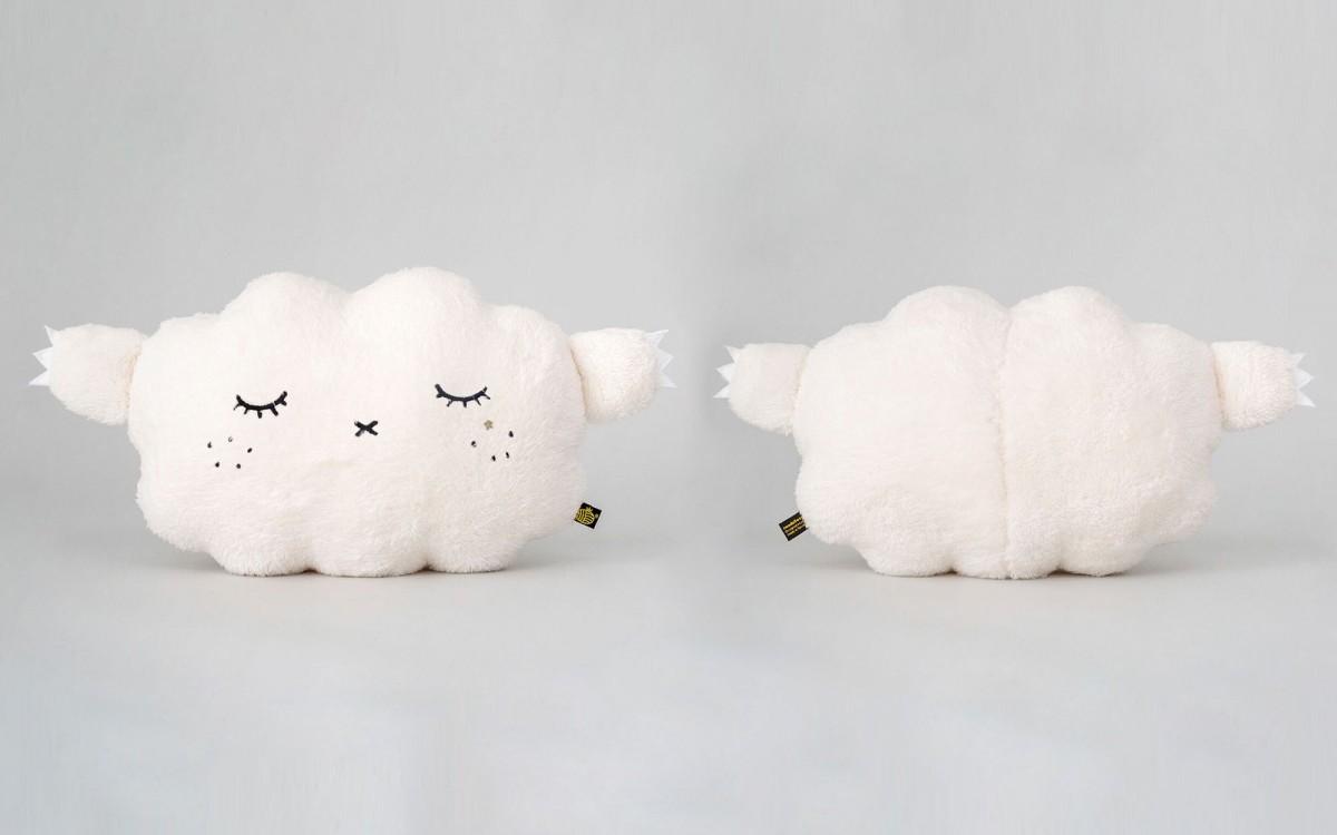 cojín Nube blanco Ricesnore