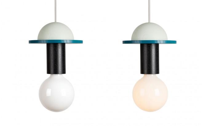 lámpara de techo junit crescent - diseño escandinavo