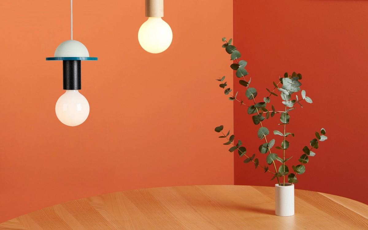 pendant light junit crescent - scandinavian design