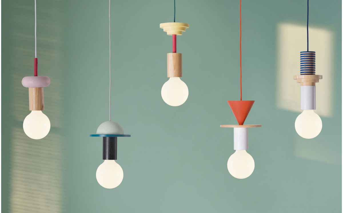 lampe enfant junit column par schneid luminaire design scandinave chambre gar on. Black Bedroom Furniture Sets. Home Design Ideas