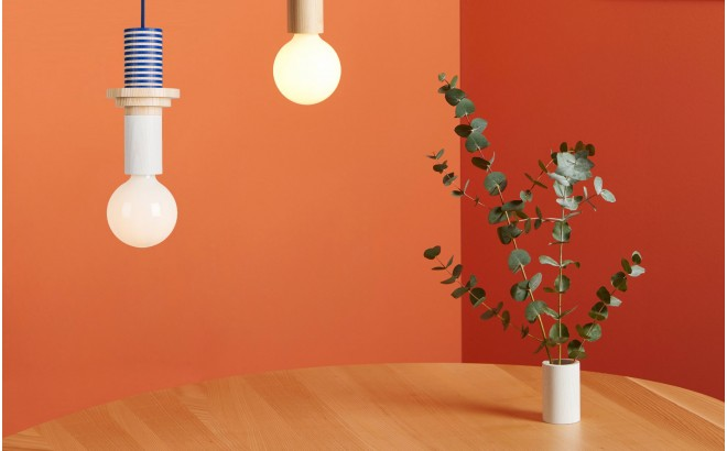 pendant light junit column - scandinavian design