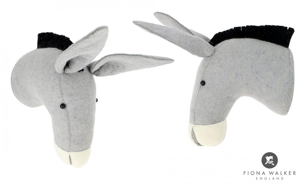 troph e ane au chapeau d coration murale chambre enfant. Black Bedroom Furniture Sets. Home Design Ideas