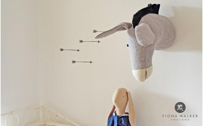 trofeo de pared burro con sombrero