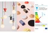 lámpara de techo junit record - diseño escandinavo