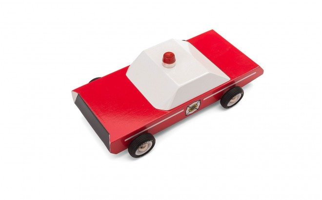 Firechief voiture du chef des pompiers de Candylabtoys
