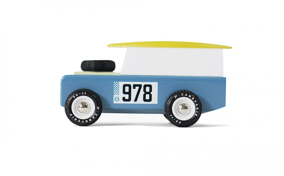 THE DRIFTER OFF-ROAD 4X4 WOODEN CAR TOY FOR KIDS by CandyLabToys