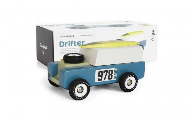 Drifter wooden toy car by Candylabtoys