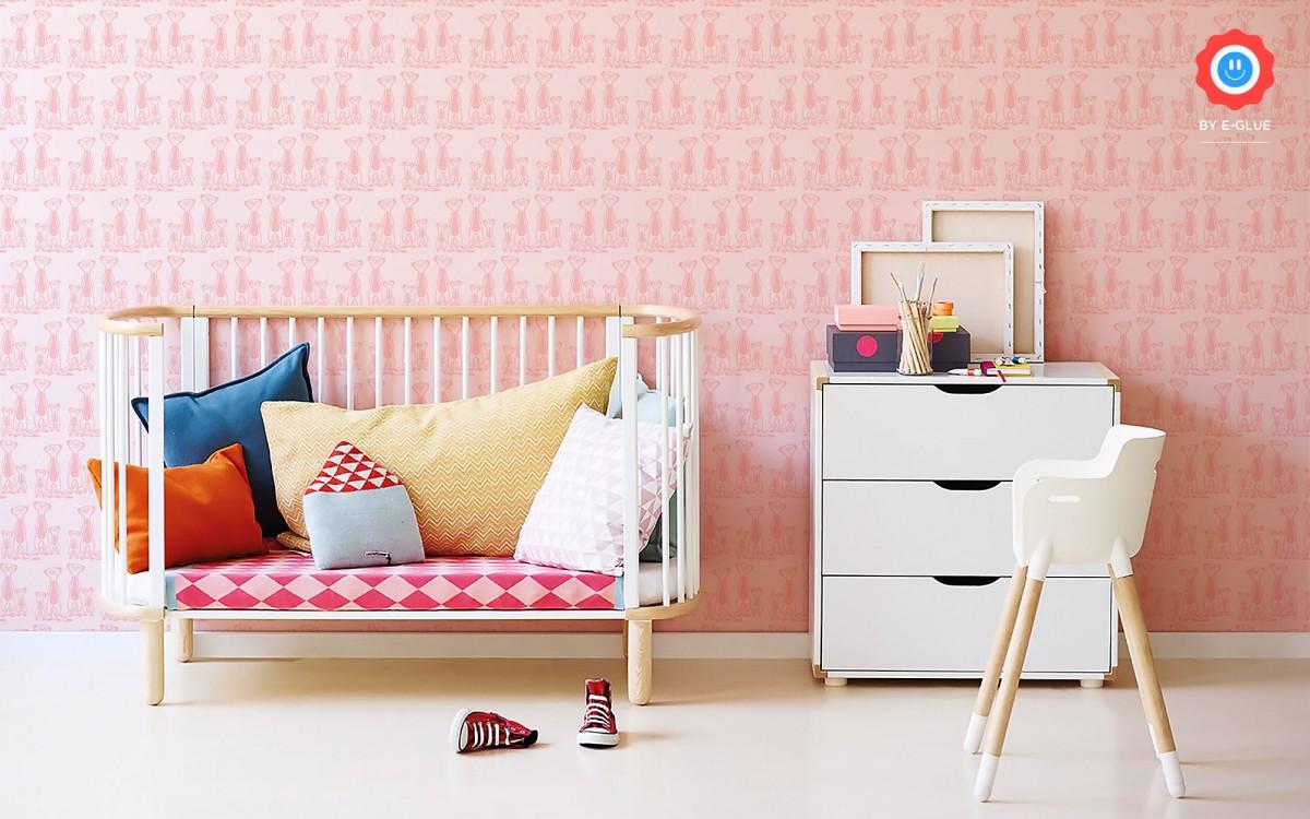 papier peint enfant suricate