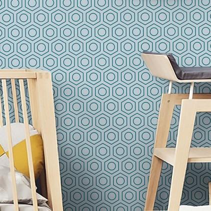 Transporte l tema de decoraci n habitacion infantil b b s - Papel pintado infantil nino ...