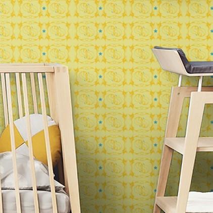 Infantiles papel pintado elegant infantil with infantiles for Cama voladora