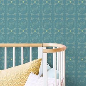 papier peint enfants ecureuils papier peint chambres b b et enfant papier peint sur mesure. Black Bedroom Furniture Sets. Home Design Ideas