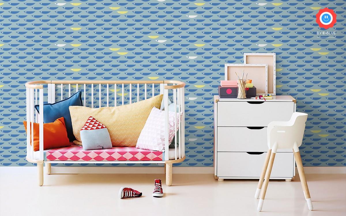 papier peint enfant poisson (horizontal)