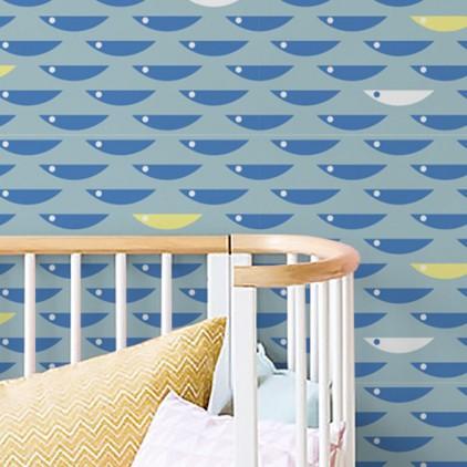 d coration murale enfants papiers peints chambre b b et. Black Bedroom Furniture Sets. Home Design Ideas