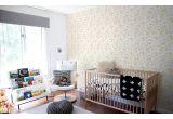 papier peint floral pastel pour chambre enfant bébé ou fille
