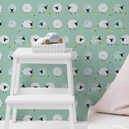 d coration murale enfants papiers peints chambre b b et enfant sur mesure. Black Bedroom Furniture Sets. Home Design Ideas