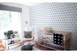 papier peint baleine bleu pastel pour chambre bébé ou chambre garçon