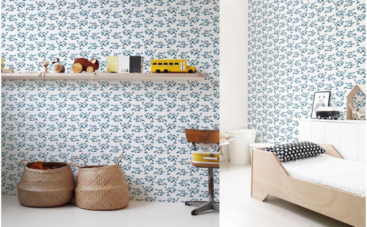 papier peint joueurs de football chambre enfant gar on. Black Bedroom Furniture Sets. Home Design Ideas
