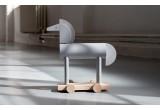 jouet cheval gris en bois Griseon par Kutulu design