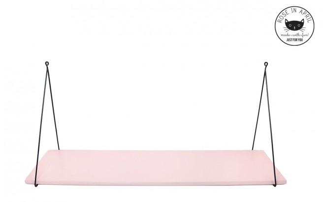 estantería Babou rosa claro para dormitorio bebé niña por Rose in April