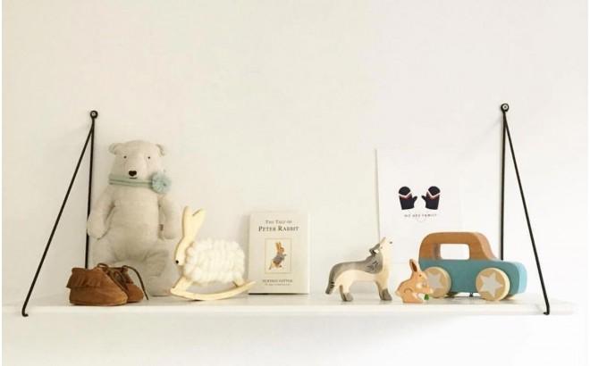 estantería Babou blanco para dormitorio bebé por Rose in April