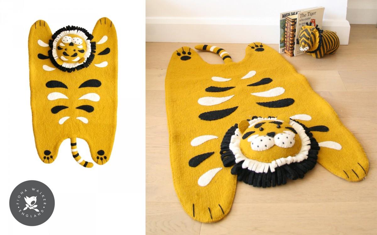 alfombra infantil tigre