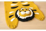 felt tiger rug for kids by Fiona Walker
