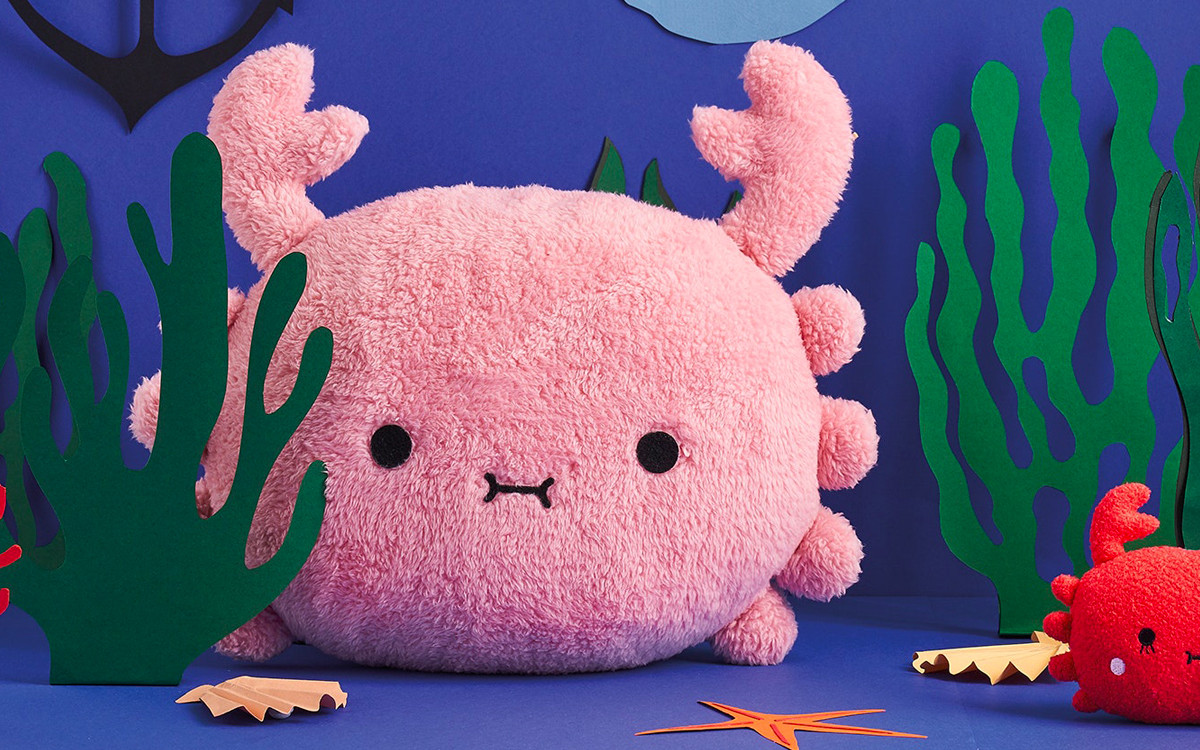 coussin peluche crabe RiceSushi