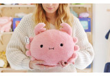 Pink crab cushion for baby and kids RiceSushi by Noodoll